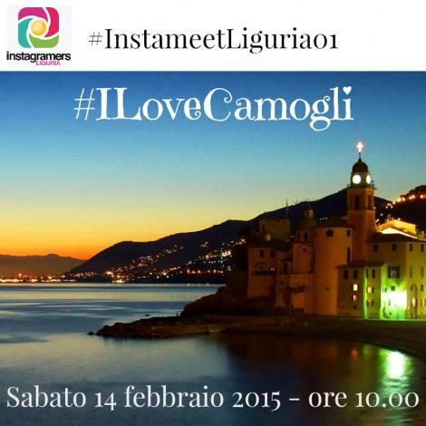 San Valentino a Camogli per il primo Instameet ligure