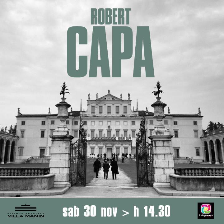 IgersFVG a Villa Manin per Robert Capa