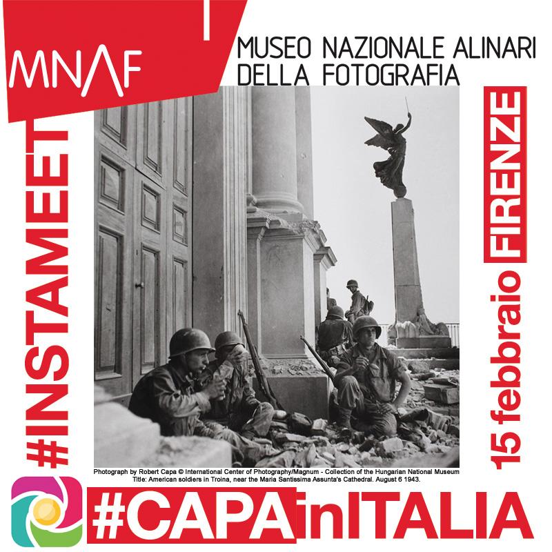 Instagramers Firenze e MNAF insieme per la mostra di Robert Capa