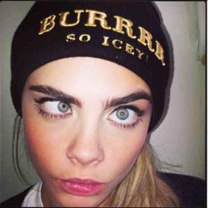 Cara - smorfie su instagram