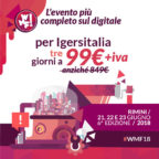 Igers Italia ti porta al Web Marketing Festival, l'evento più completo sull'innovazione digitale!