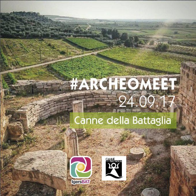1° #ArcheoMeet DI @IgersBat a Canne Della Battaglia: tra Natura e Cultura