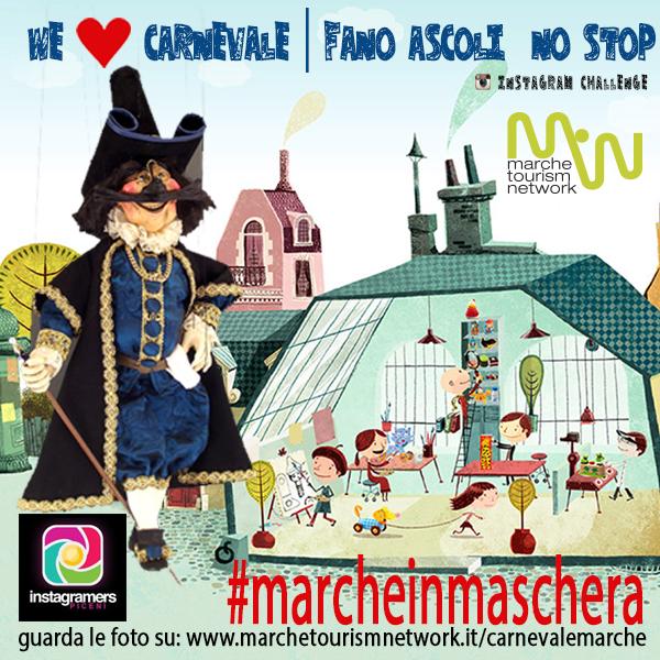 Il Carnevale nelle Marche raccontato da IgersPiceni e Marche Tourism Network