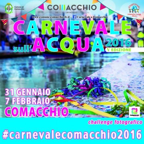 Instagramers in maschera a Comacchio
