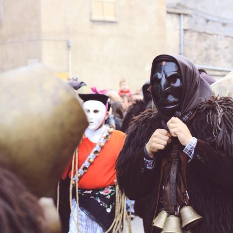 Il Carnevale barbaricino in scena su Instagram