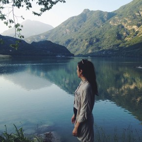 Lago di Cavazzo (@catherinesomething)