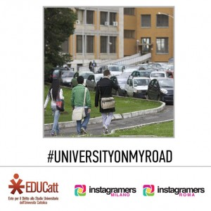"IgersRoma IgersMilano e EDUCatt presentano ""University on my Road"""