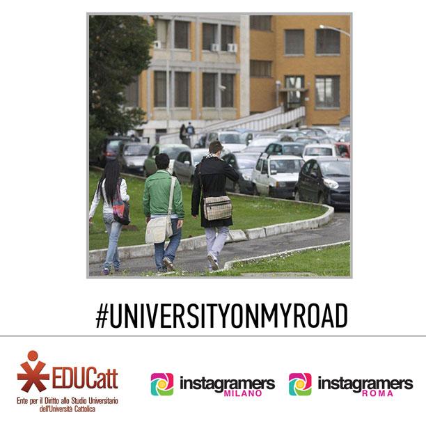 "IgersRoma IgersMilano e EDUCatt presentano ""University on my Road"""