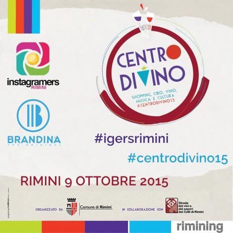 #Centrodivino15 con gli IgersRimini