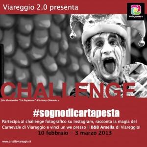 #sognodicartapesta: il challenge del Carnevale di Viareggio