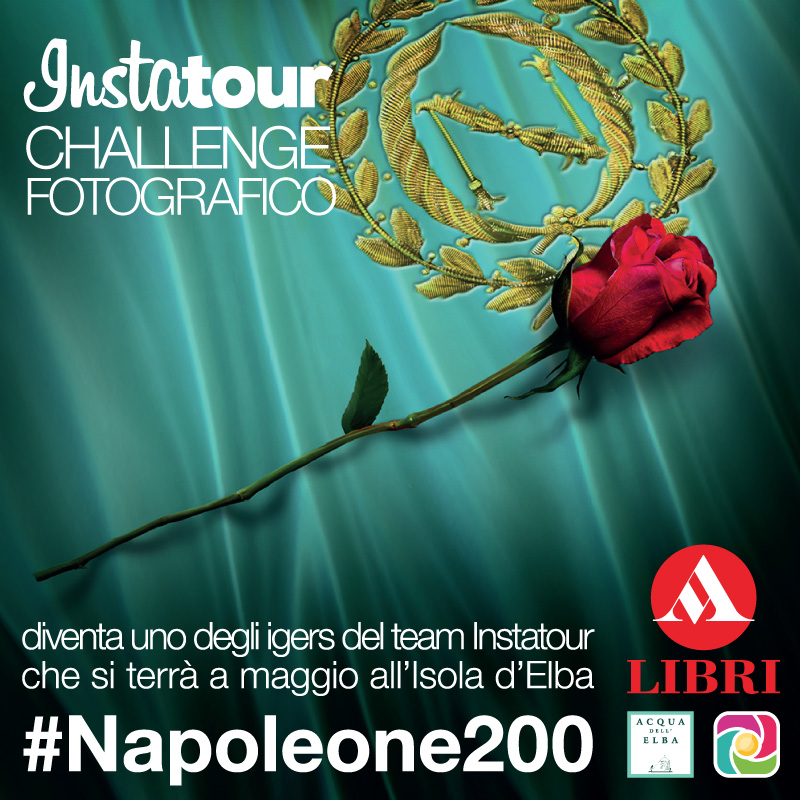 Partecipa a #Napoleone200 per essere nel team dell'Instatour.