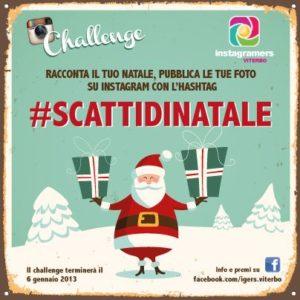 Challenge di Natale su Instagram con igersViterbo