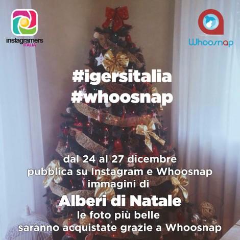 Il progetto fotografico natalizio di Igersitalia e Whoosnap