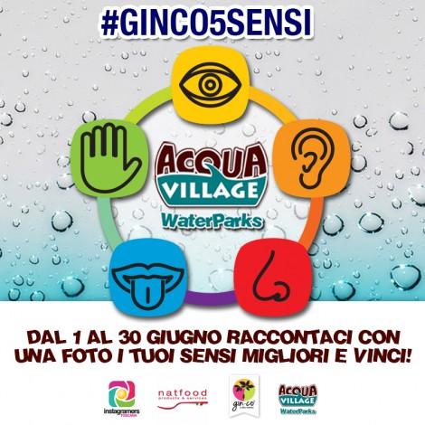 Fotografa i tuoi 5 sensi e vinci con Acqua Village!