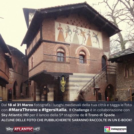 MaraThrone: il challenge che racconta l'Italia medievale