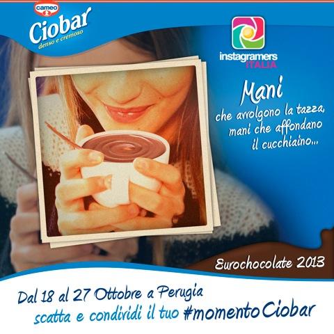 #momentociobar a Eurochocolate! Scattalo e condividilo con Instagram