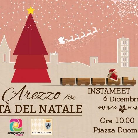 Gli instagramers in giro per la Città del Natale di Arezzo