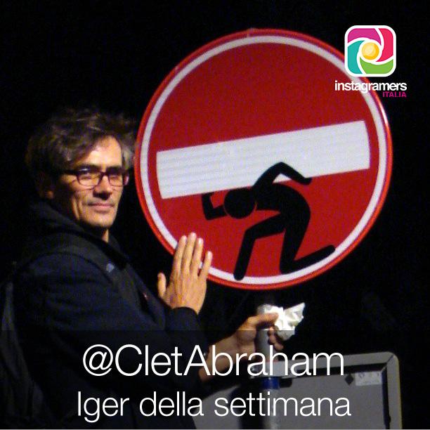 Clet Abraham // Iger della settimana