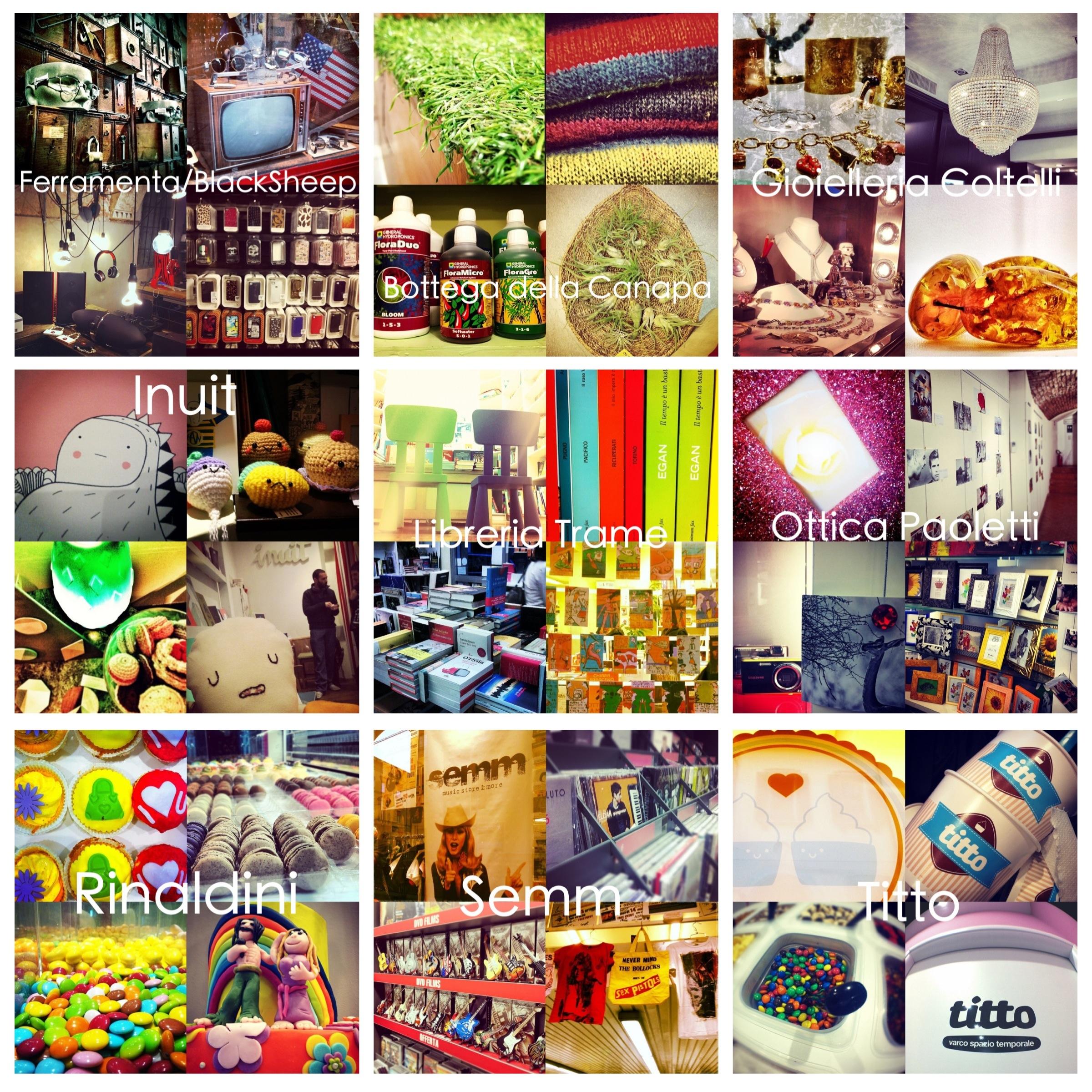 #4sqDayBo 2012: Foursquare + Instagram + i Negozi di Bologna = Love!