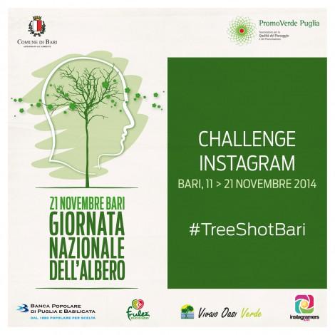 La Giornata Nazionale degli Alberi si celebra su Instagram con il challenge di Igersbari