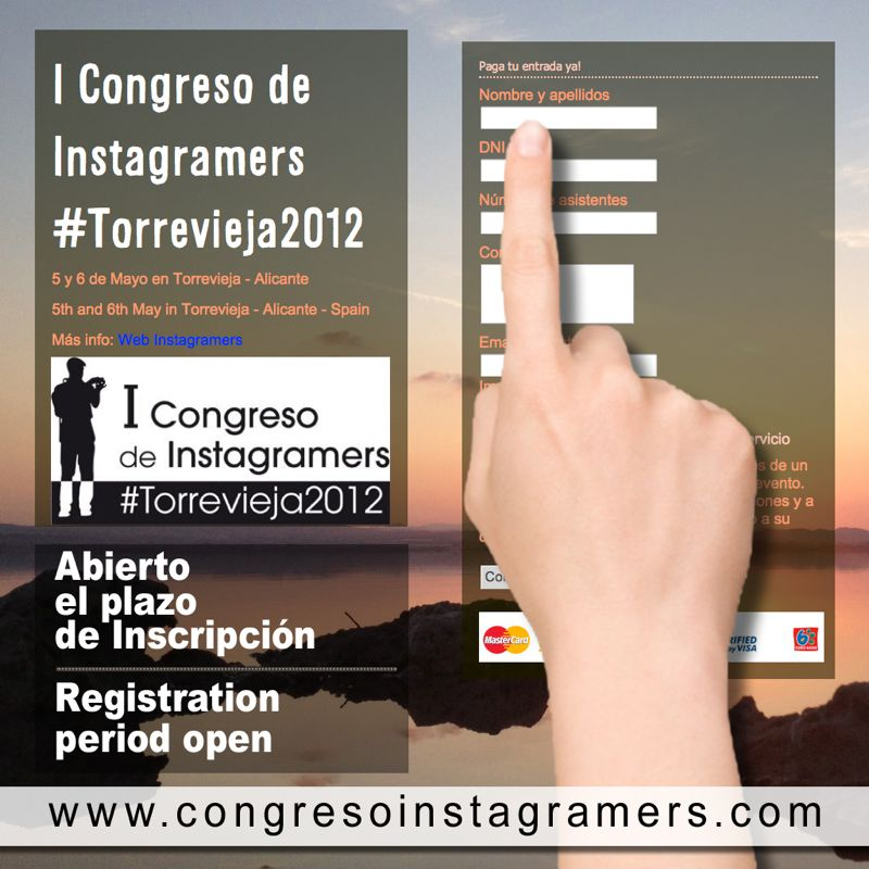 1° Congresso Instagramers in Spagna #Torrevieja