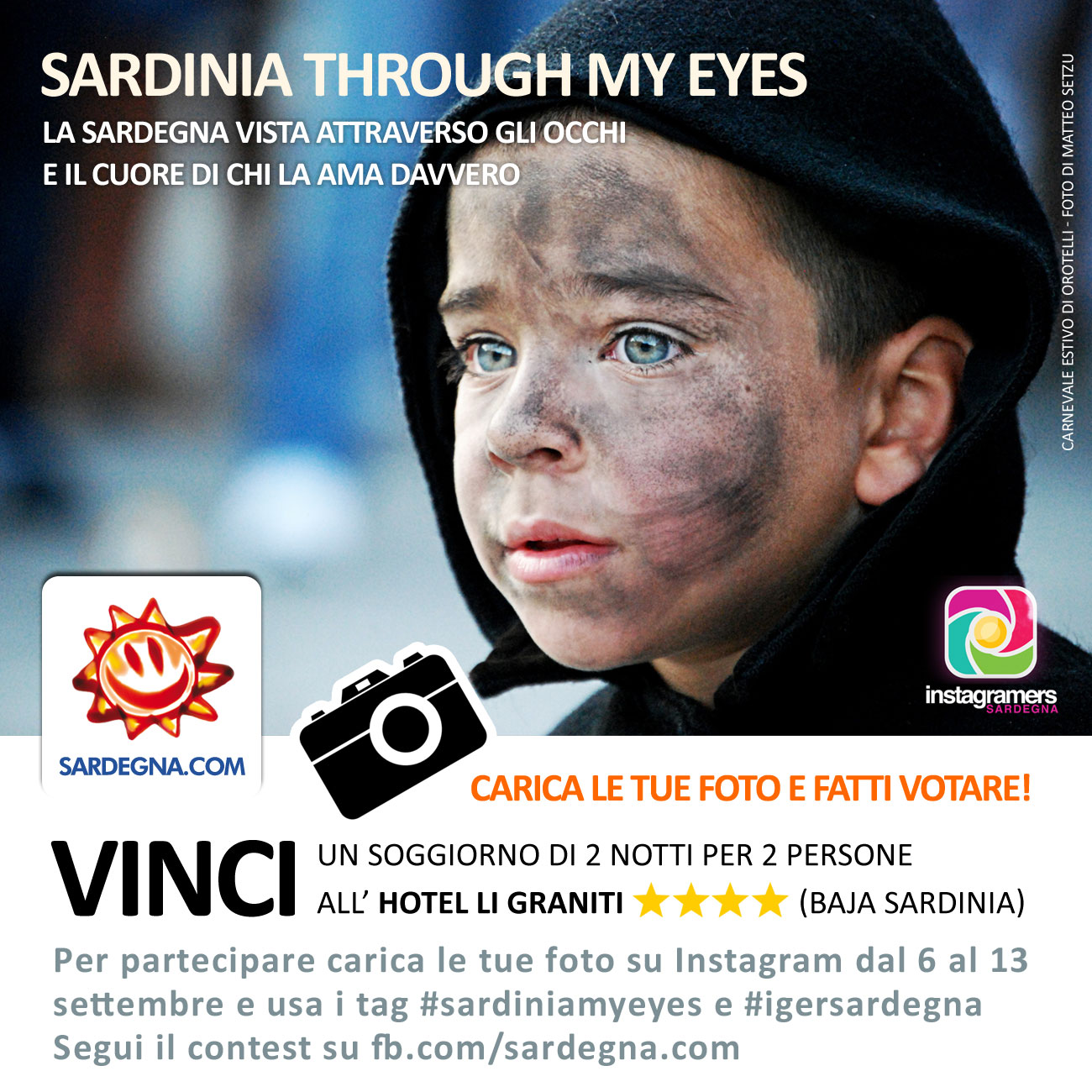 "Challenge ""Sardinia through my eyes, la Sardegna nei mei occhi"""