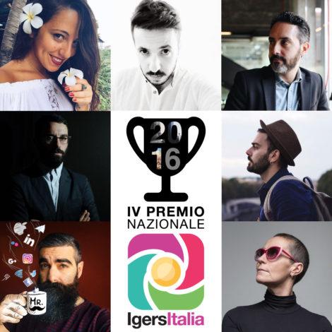 La giuria del Premio Igersitalia 2016