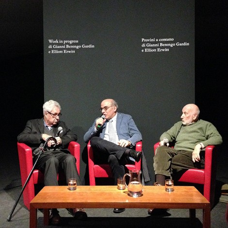 """Elliott Erwitt e Gianni Berengo Gardin: """"un'amicizia ai sali d'argento"""""""