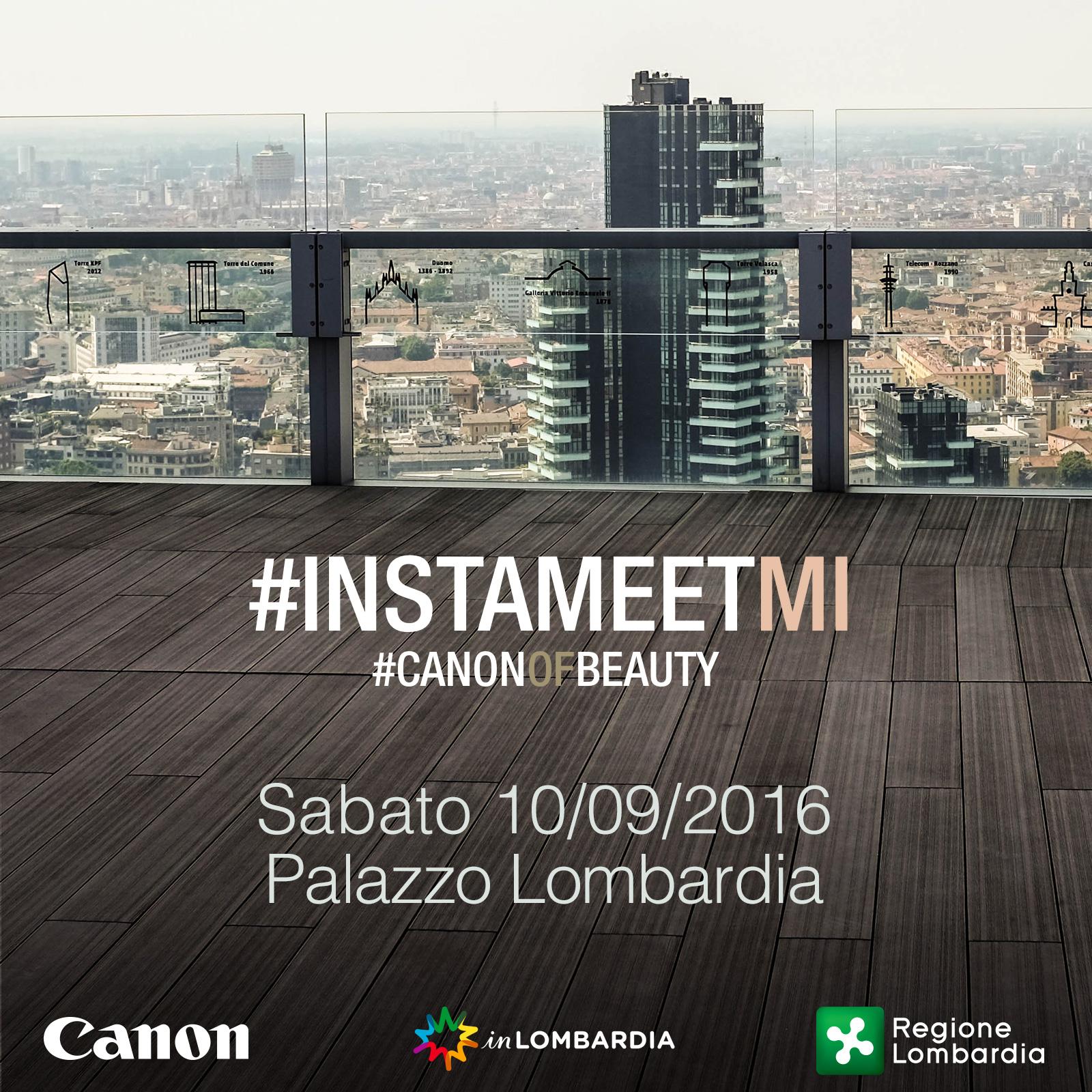 Un Instameet 38 Piani Sopra Milano Per Canonofbeauty