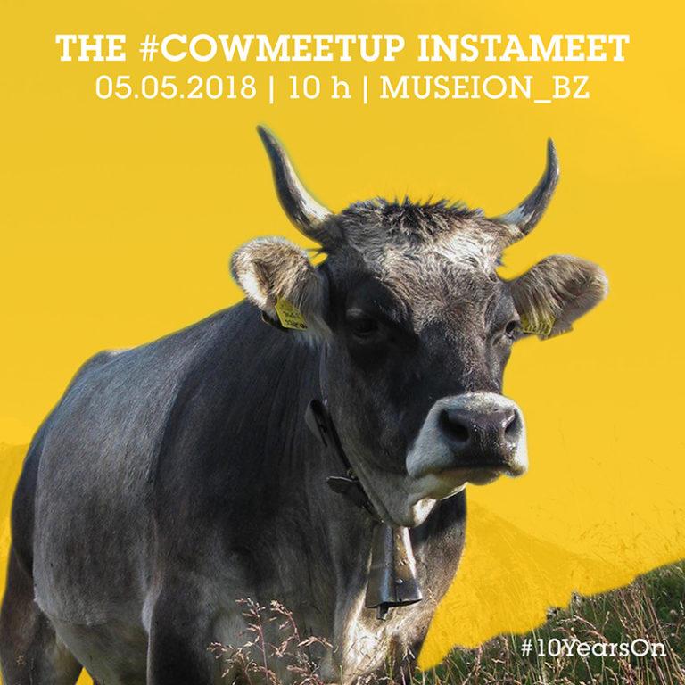 CowMeetUp, un insolito instameet al Museion di Bolzano