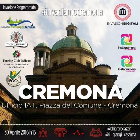 Cremona presa d'assalto: gli igers impegnati in 3 invasioni digitali