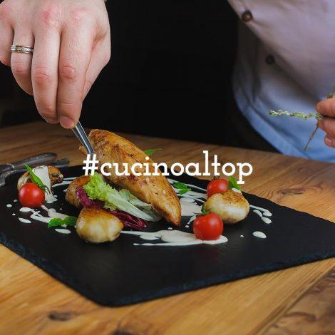 #CucinoAlTop: racconta i momenti da top chef nella tua cucina