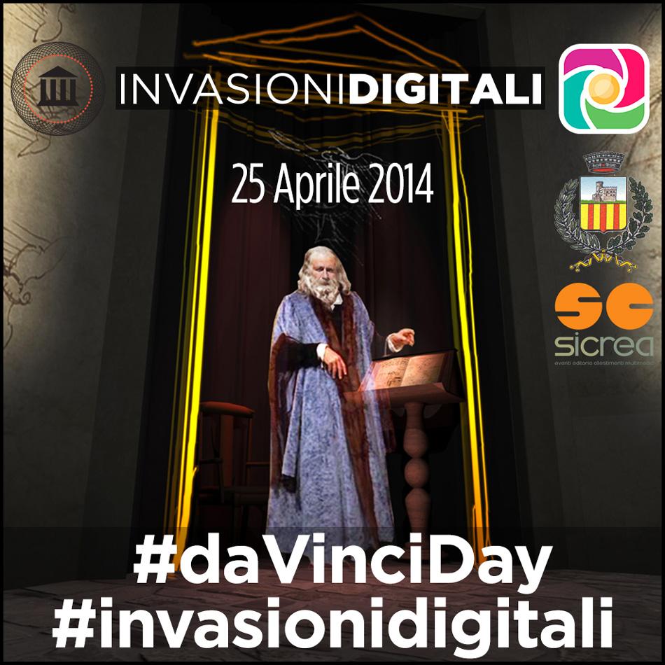Invasioni Digitali alla scoperta di Leonardo da Vinci con Instagram