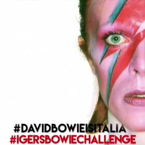"""You Can Be Heroes, Just With a Post!"", challenge di igersBologna e David Bowie Is Italia"