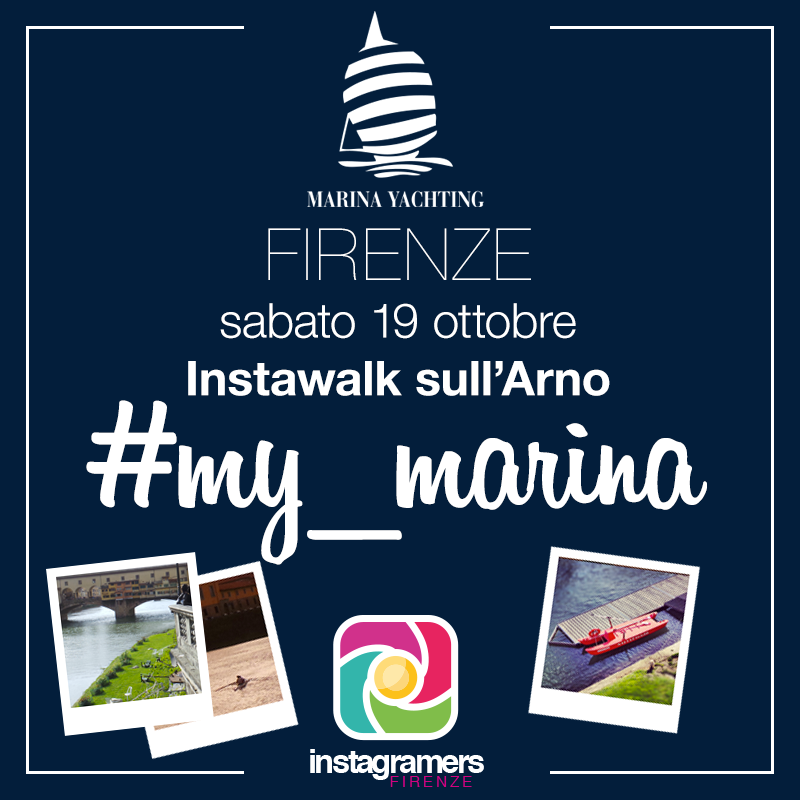 Igersfirenze e Marina Yachting insieme per un Instawalk lungo le rive dell'Arno