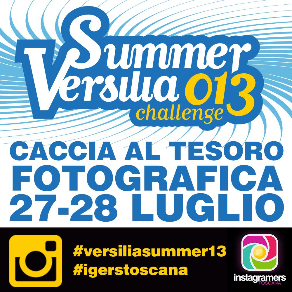 Versilia Summer Challenge, caccia al tesoro fotografica con Instagram