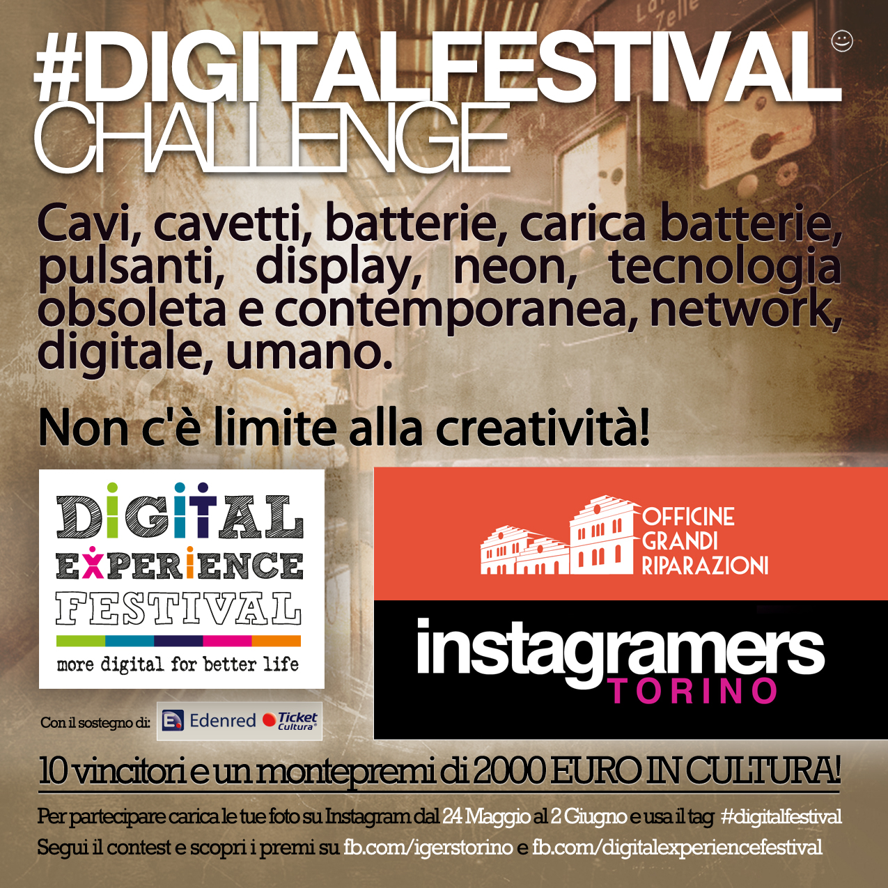 Digital Festival Challenge con Instagramers Torino