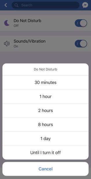 """""""Do not disturb"""" la possibilità di disattivare le notifiche su Instagram e Facebook"""