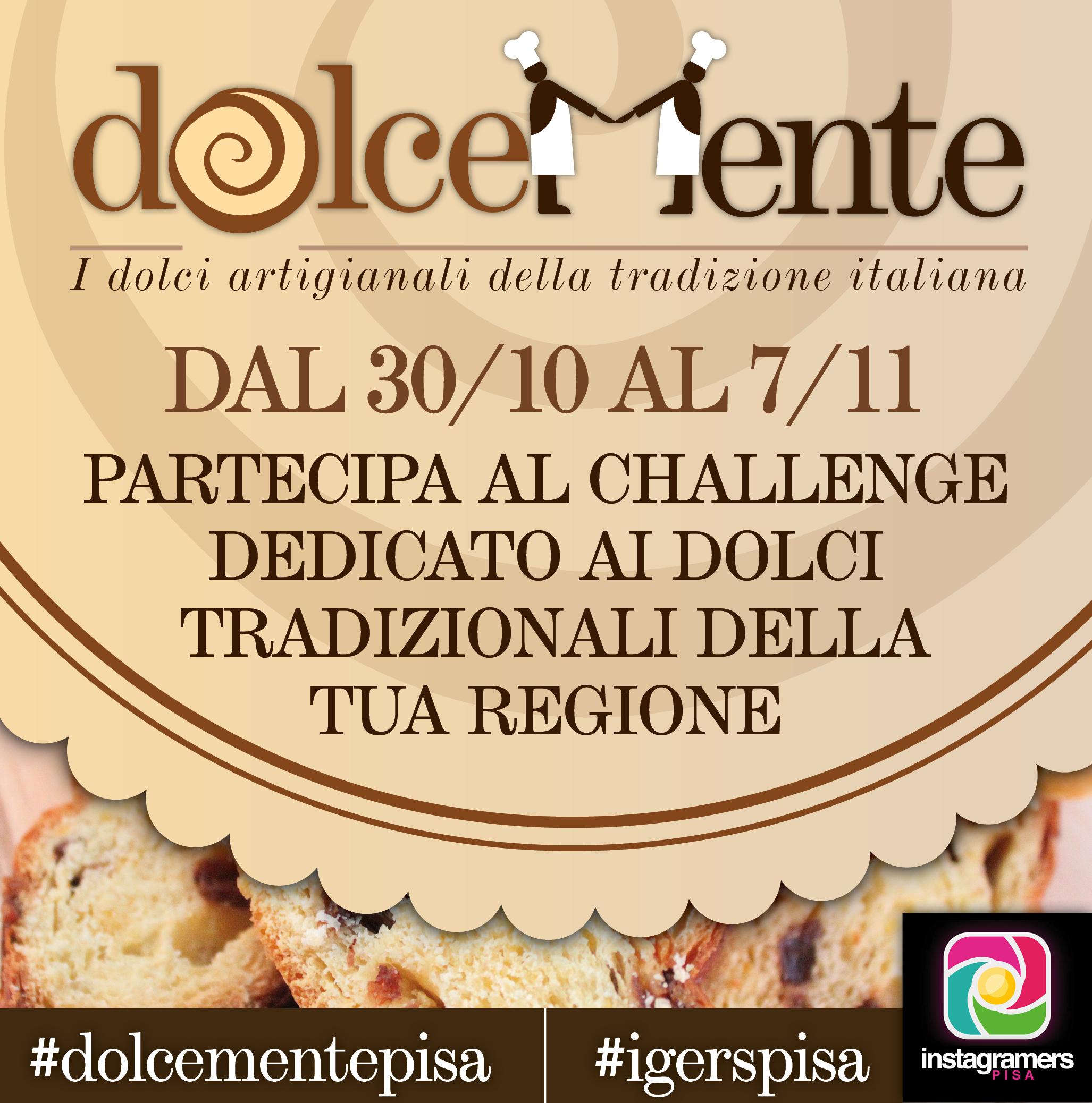 I dolci della tradizione italiana con #dolcementepisa