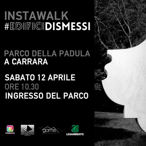 Edifici dismessi. Instawalk al parco della Padula di Carrara.