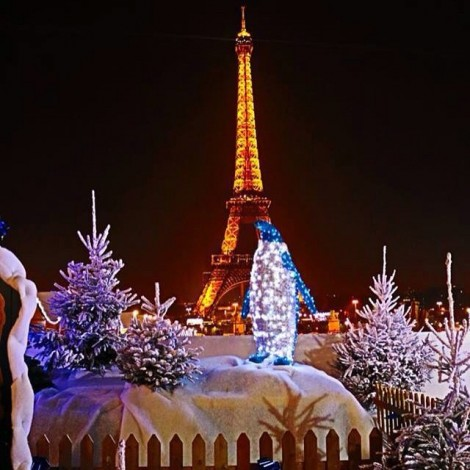 Idee creative per fotografare le luci di Natale