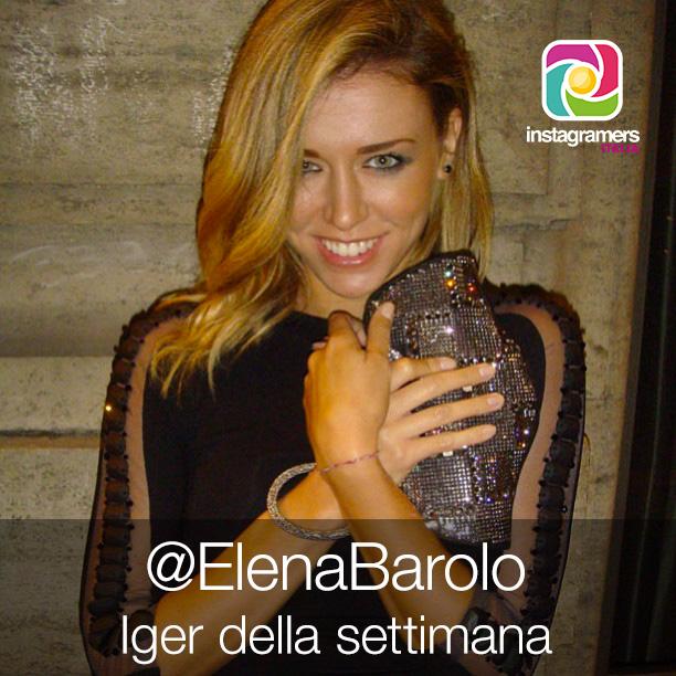 Elena Barolo // Iger della settimana