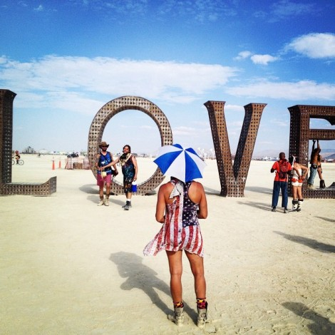 Il Burning Man infiamma Instagram