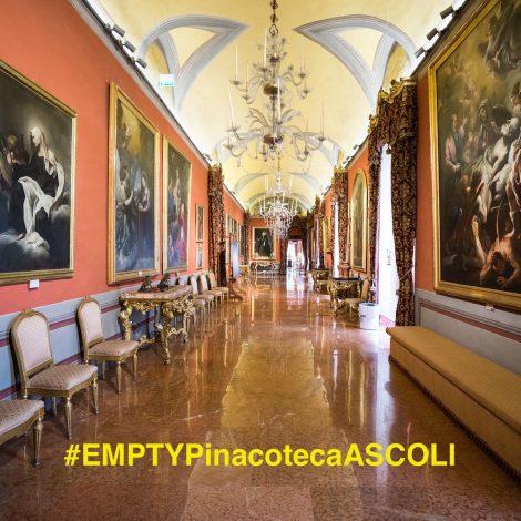 """Empty in Pinacoteca ad Ascoli per """"Bertozzi e Casoni. Minini Avanzi"""""""