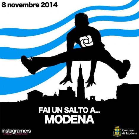 FaiUnSaltoA: Instagramers Modena vi invita a fare un balzo