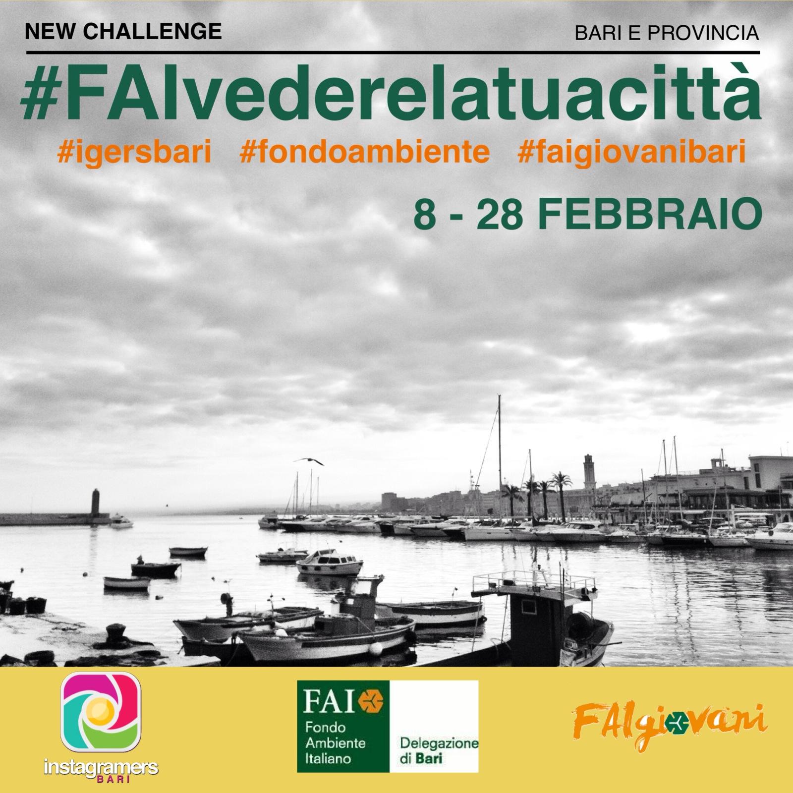 #FAIvederelatuacittà: la tua foto sui canali social del FAI Giovani Bari
