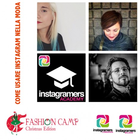 Igers al Fashion Camp con uno speech su moda e fotografia mobile