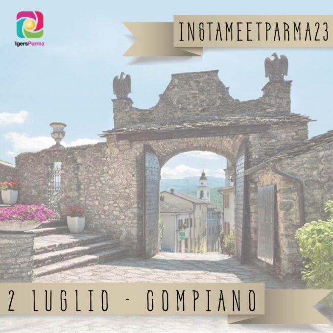 Instameetparma23: una domenica al Castello di Compiano