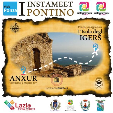 Primo Instameet pontino: dall'antica Anxur all'isola degli Igers