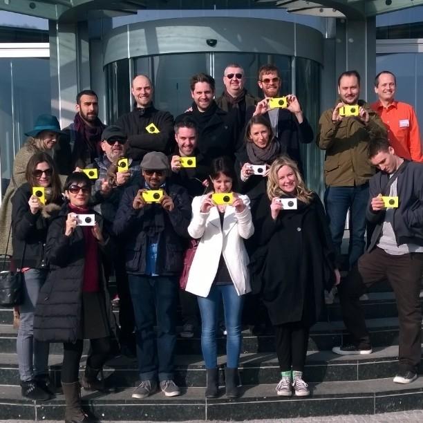#lumiainfocus tour - foto di gruppo